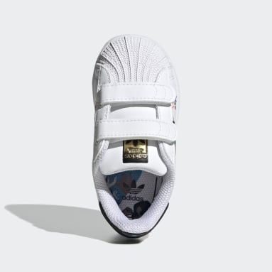 Sapatilhas Superstar Pure Branco Raparigas Originals