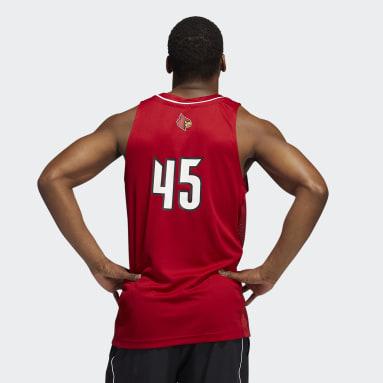 Men's Basketball Red Donavan Mitchell Cardinals Swingman Jersey