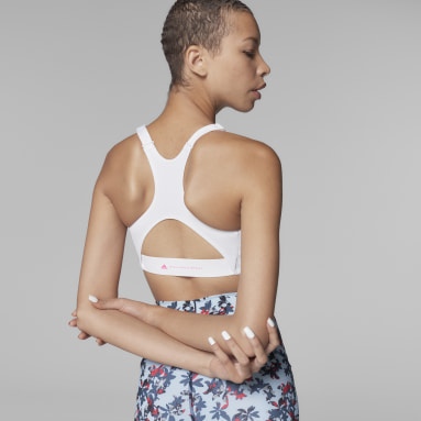 Brassière TruePurpose Medium Support blanc Femmes adidas by Stella McCartney