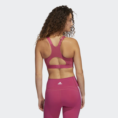 Women Gym & Training Pink Ultimate Alpha Bra