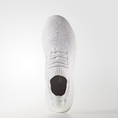 Running White UltraBOOST Uncaged Shoes