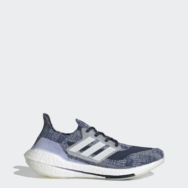 ผู้ชาย วิ่ง สีน้ำเงิน รองเท้า Ultraboost 21 Primeblue