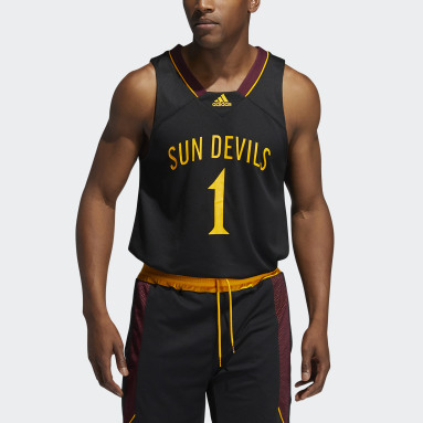 Men's Basketball Black Sun Devils Reverse Retro Jersey