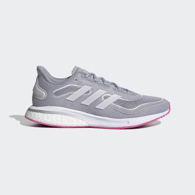 Dam Löpning Grå Supernova Shoes