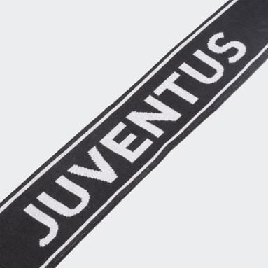 Soccer Black Juventus Scarf