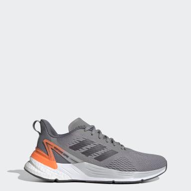 Men's Running Grey Response Super Shoes