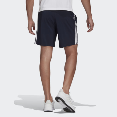 Shorts AEROREADY Essentials Chelsea 3-Stripes Azul Homem Estilo Esportivo