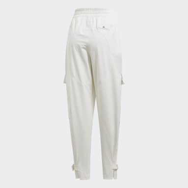 Pantalón Performance Training Suit Blanco Mujer adidas by Stella McCartney
