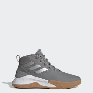 Men Basketball Grey OwnTheGame Shoes
