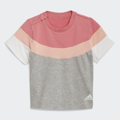 Girls Gym & Training Pink Summer Jogger Set