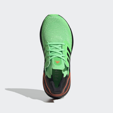 Youth Running Green Ultraboost 20 Shoes