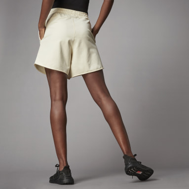 Short Terra Love French Terry blanc Femmes Sportswear