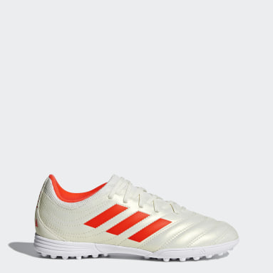 Children Football White Copa 19.3 Turf Boots