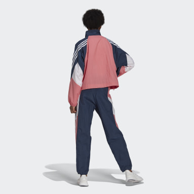 Dam Sportswear Rosa adidas Sportswear Game-Time Woven Track Suit