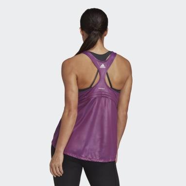 Dames Fitness En Training Roze Primeblue Tanktop