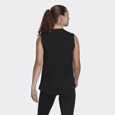 Women TERREX Black Terrex Graphic Tank Top