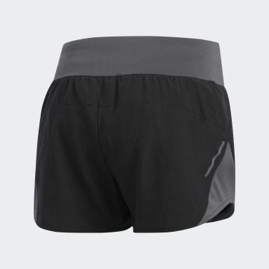 Shorts Run It Negro Mujer Running