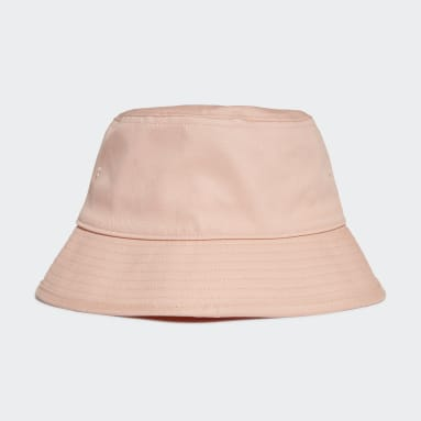 Women Originals Pink Adicolor Trefoil Bucket Hat