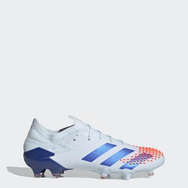 Football Blue Predator Mutator 20.1 Low Firm Ground Boots