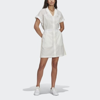 Women Originals White No-Dye Dress