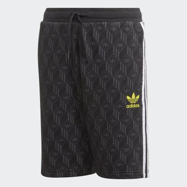 Shorts (UNISEX) Negro Niño Originals