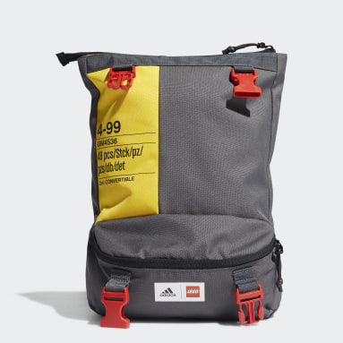 adidas x Classic LEGO® Two-in-One Convertible Bag Grå