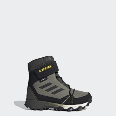Chaussure de randonnée Terrex Snow CF Winter Vert Enfants TERREX