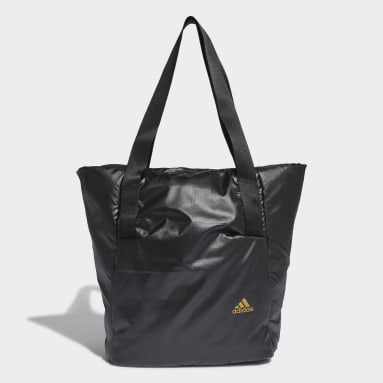 Women Yoga Black Ripstop Training Tote