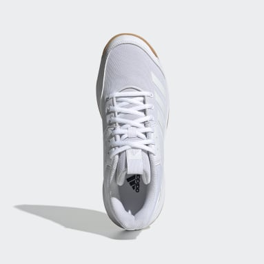 Women Netball White Ligra 6 Shoes