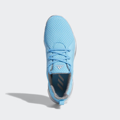 Women Golf Blue Climacool Cage Shoes