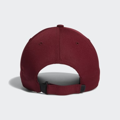 Men Golf Burgundy Performance Cap