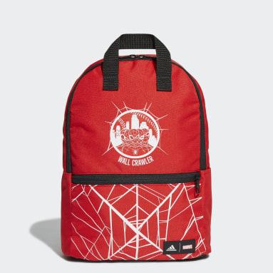 Mochila Marvel Hombre Araña Rojo Niño Training