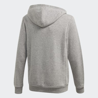 Boys Sportswear Grey Must Haves Badge of Sport Pullover