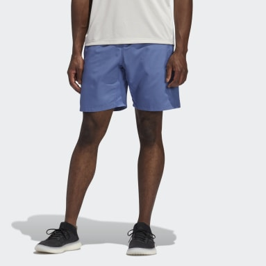 Short 3-Stripes 8-Inch Bleu Hommes Cricket
