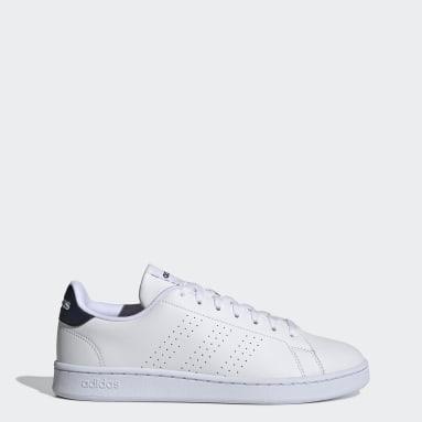 Men Sport Inspired White Advantage Shoes