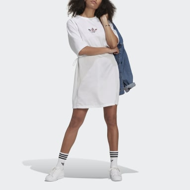 Women Originals White Tee Dress