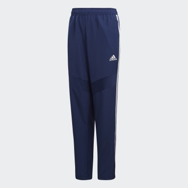 Pantalon Tiro 19 Woven Bleu Enfants Fitness Et Training