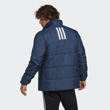 Giacca BSC 3-Stripes Insulated Blu Uomo City Outdoor