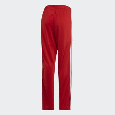 Pantalón Firebird - Tiro Medio Rojo Mujer Originals