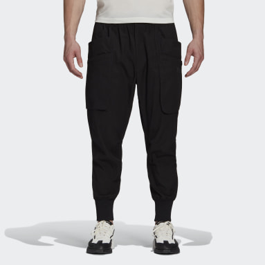 Men Y-3 Black Y-3 Classic Light Ripstop Utility Pants