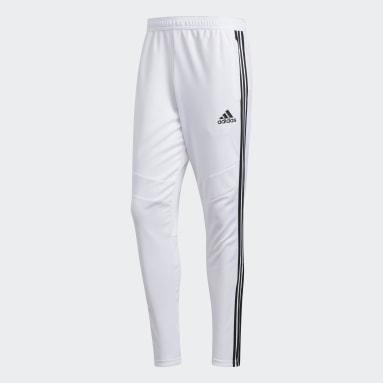 Men Soccer White Tiro 19 Training Pants