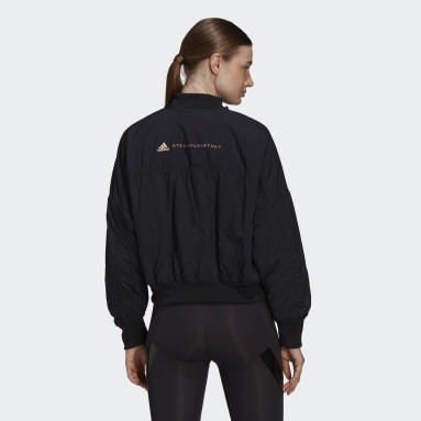 Veste adidas by Stella McCartney Woven Bomber Noir Femmes adidas by Stella McCartney