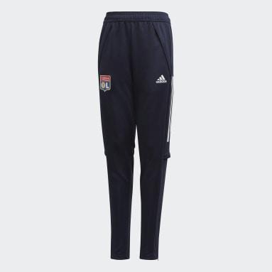 Pantalón entrenamiento Olympique de Lyon Azul Niño Fútbol