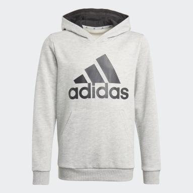 Boys Sport Inspired Grey adidas Essentials Hoodie