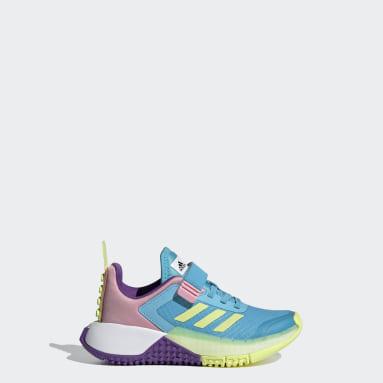 Chaussure adidas x LEGO® Sport Turquoise Enfants Running