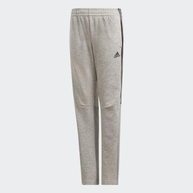 Pantaloni Must Haves Tiro Grigio Ragazzo Fitness & Training