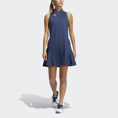 Women Golf Blue Sport Performance Primegreen Dress