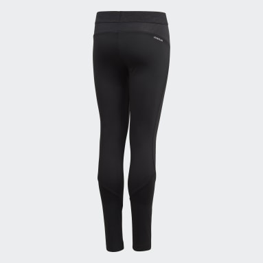 Youth Yoga Black Techfit Long Tights