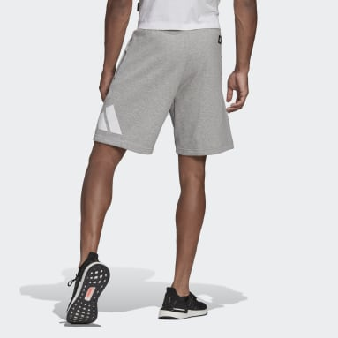 Men's Sportswear Grey adidas Sportswear Badge of Sport Shorts