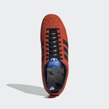 Originals Oranje Gazelle Vintage Schoenen